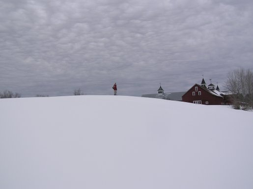 Snowshoeing in Vermont's Northeast Kingdom