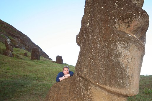 Me and my moai