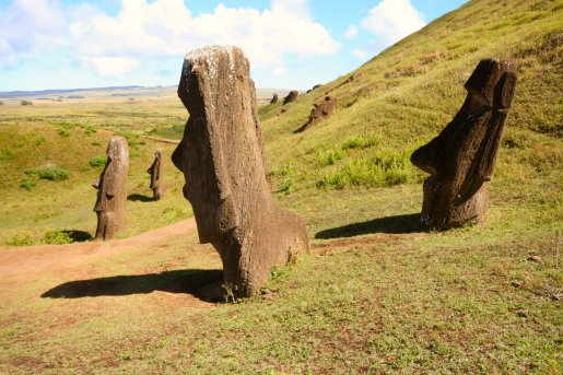 Moai at Rano Raraku